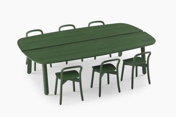 Sagada DUM Beech Board met stoelen
