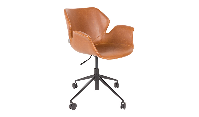 Sagada Nikki office chair brown
