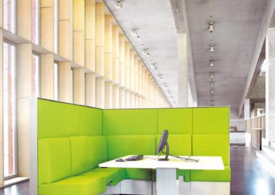 Sagada Pami lounge werkplek