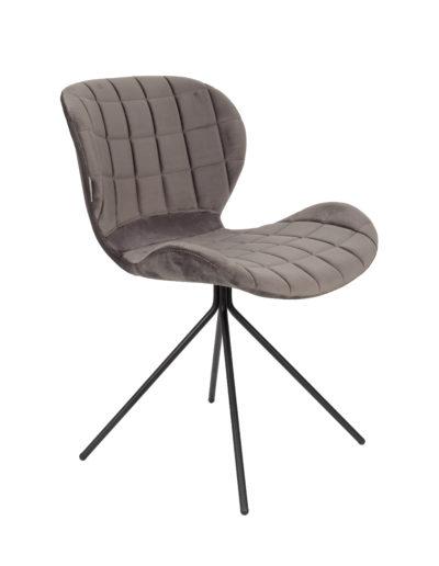 Sagada Velvet chair Zuiver