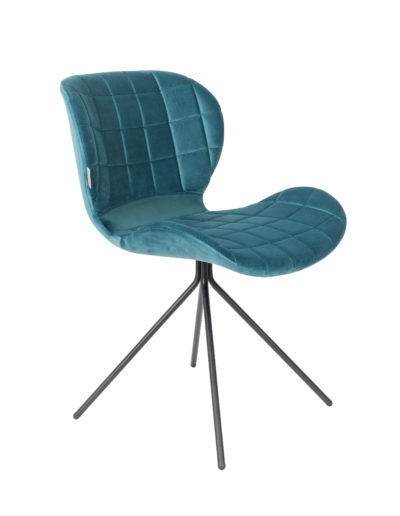 Sagada Zuiver velvet chair