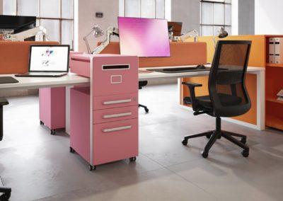 Sagada bisley desk storage