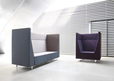 Sagada hoge sofa's